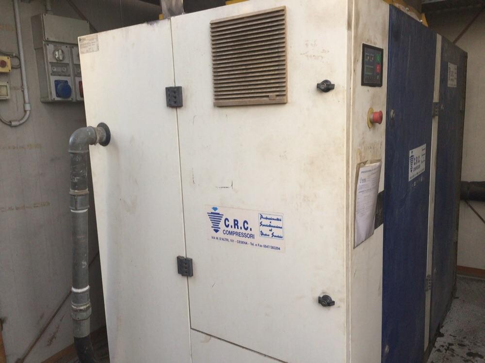 Faenza (RA). Compressore con inverter in funzione da 15 anni.